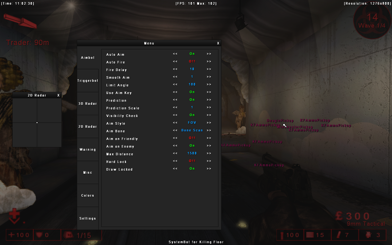 Killing floor aimbot hack thefloorsco for Killing floor hacks