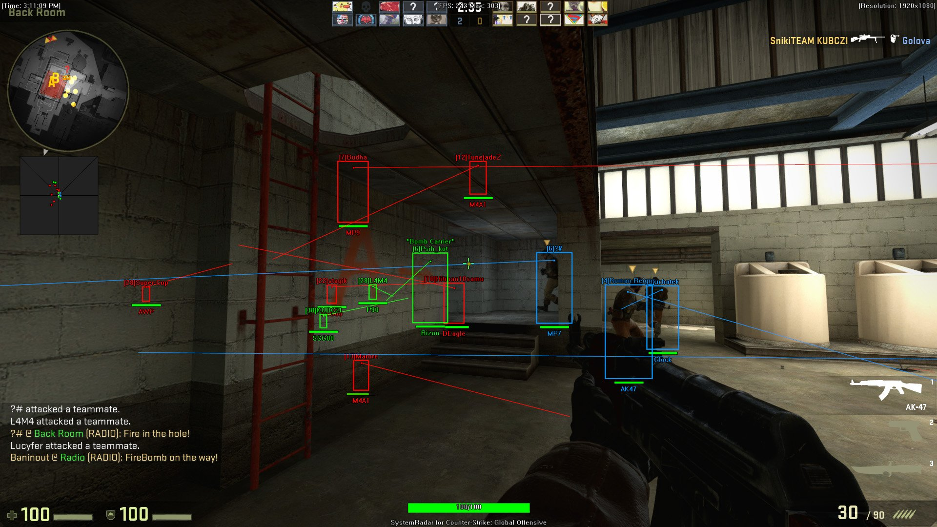Cheat/Hack for Counter-Strike: Global Offensive - SystemCheats