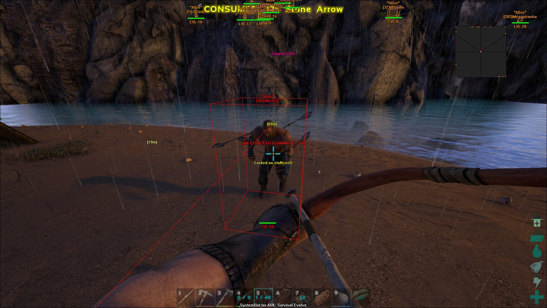 ARK: Survival Evolved Cheat/Hack with Aimbot - SystemCheats