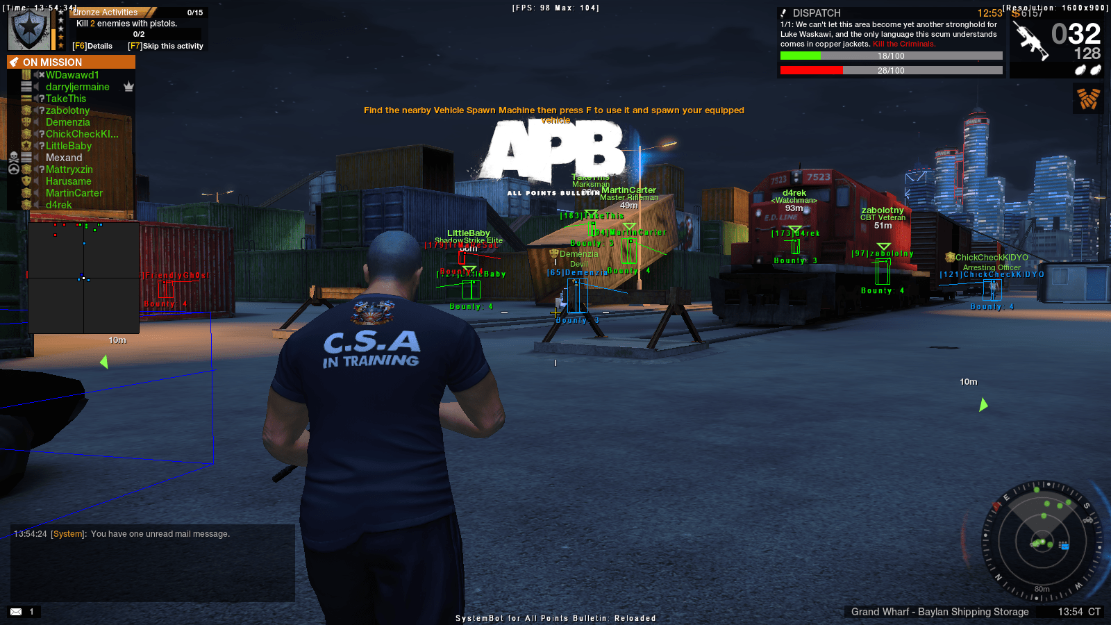 APB: Reloaded Cheat/Hack with Aimbot - SystemCheats