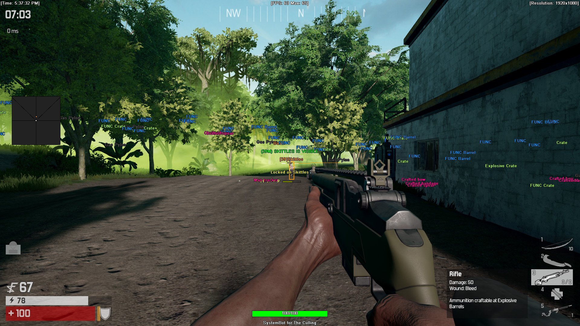 The Culling Cheat/Hack with Aimbot - SystemCheats