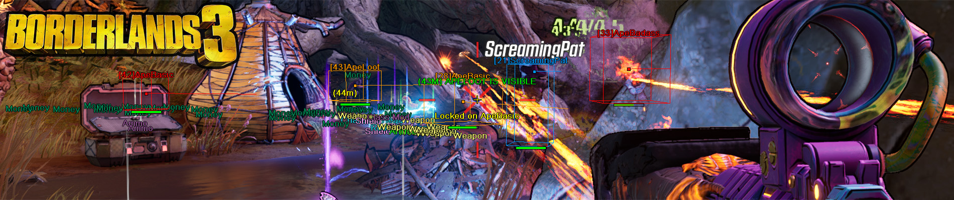 Borderlands 3 Hack/Cheat/Aimbot available as a Single Subscription!