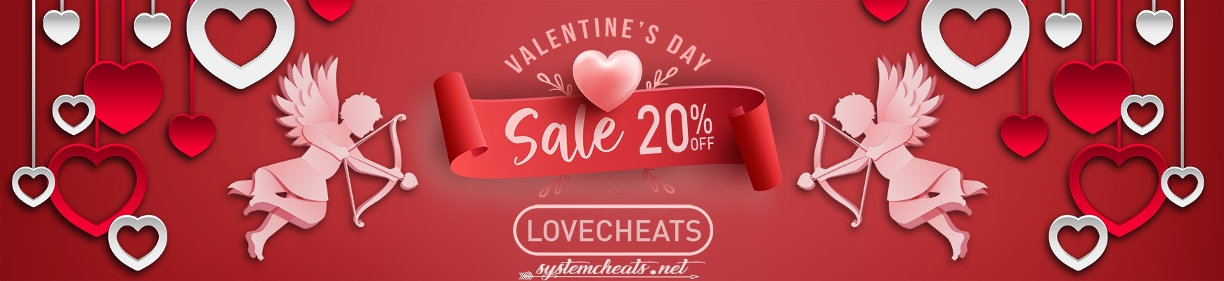 Valentine's Sale 20% Discount! (Expired)